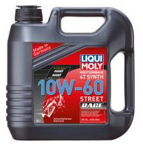 Liqui Moly Motorbike 4T Synth 10W-60 Street Race, 4l jerry can