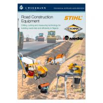 Road Construction Equipment by Stihl, Nedo and Cedima