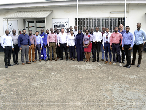 WABCO training at our training centre in Lagos