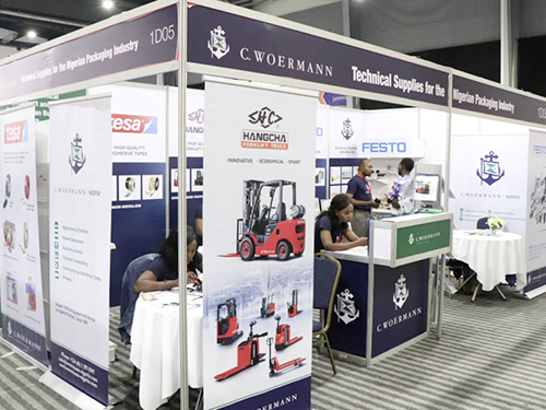 C. Woermann at the ProPak West Africa 2019 exhibition