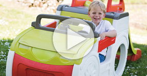 Coming Soon: Smoby Adventure Car with Slide (Video)