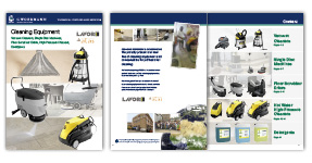 Our new cleaning equipment catalogue