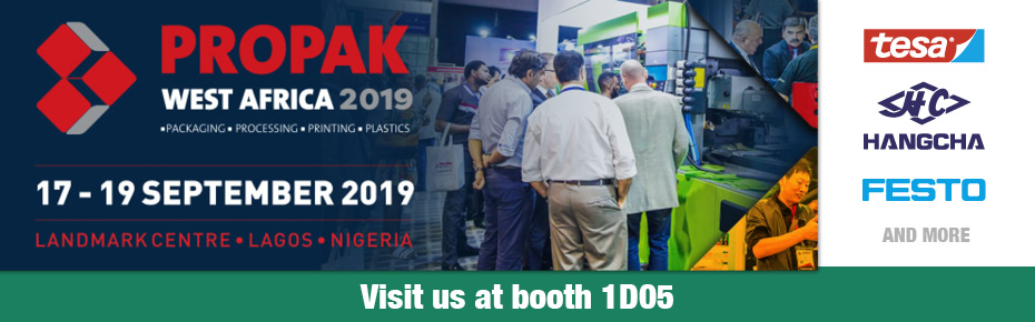 Visit us at ProPak West Africa - September 17-19 at Landmark Centre, Lagos