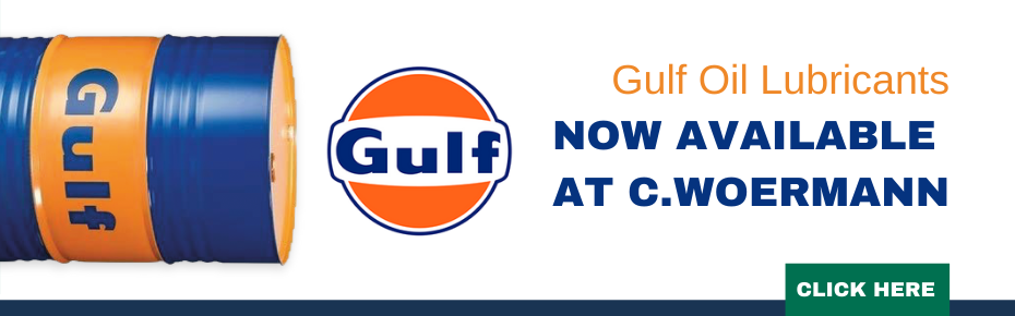 Gulf Oil Lubricants - Now available at C.Woermann!