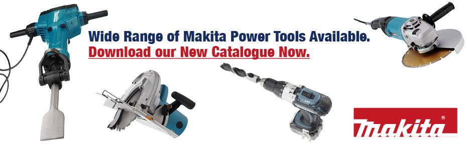Donwload now: Our new Makita Power Tools Catalogue
