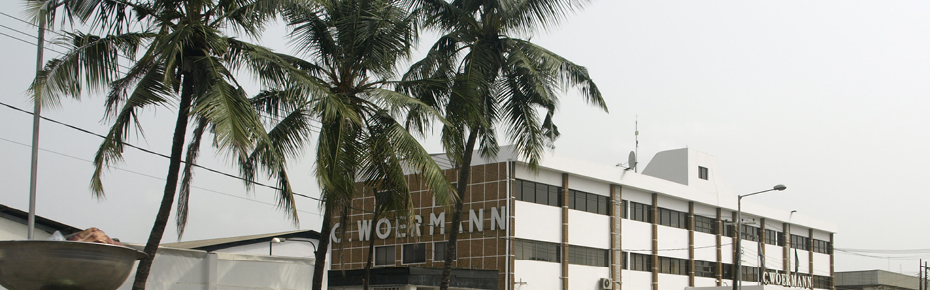 C. Woermann Nigeria is centrally located in the Matori District of Lagos