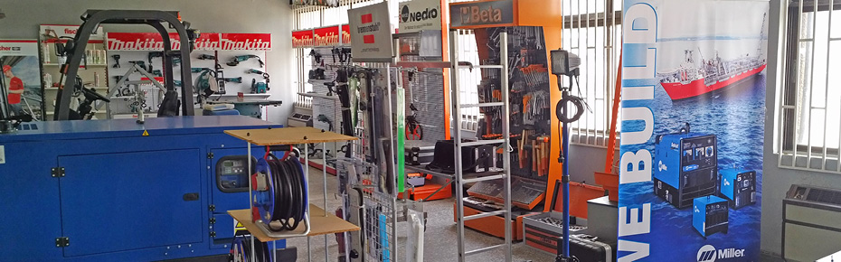 Our showroom offers you a glimpse at our broad range of products.